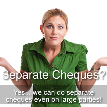 Separate Cheques