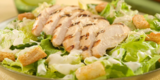 DINNER SIZED CHICKEN CAESAR SALAD