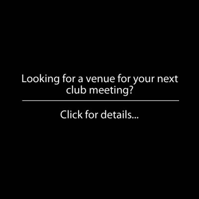 Venue for Club Meetings